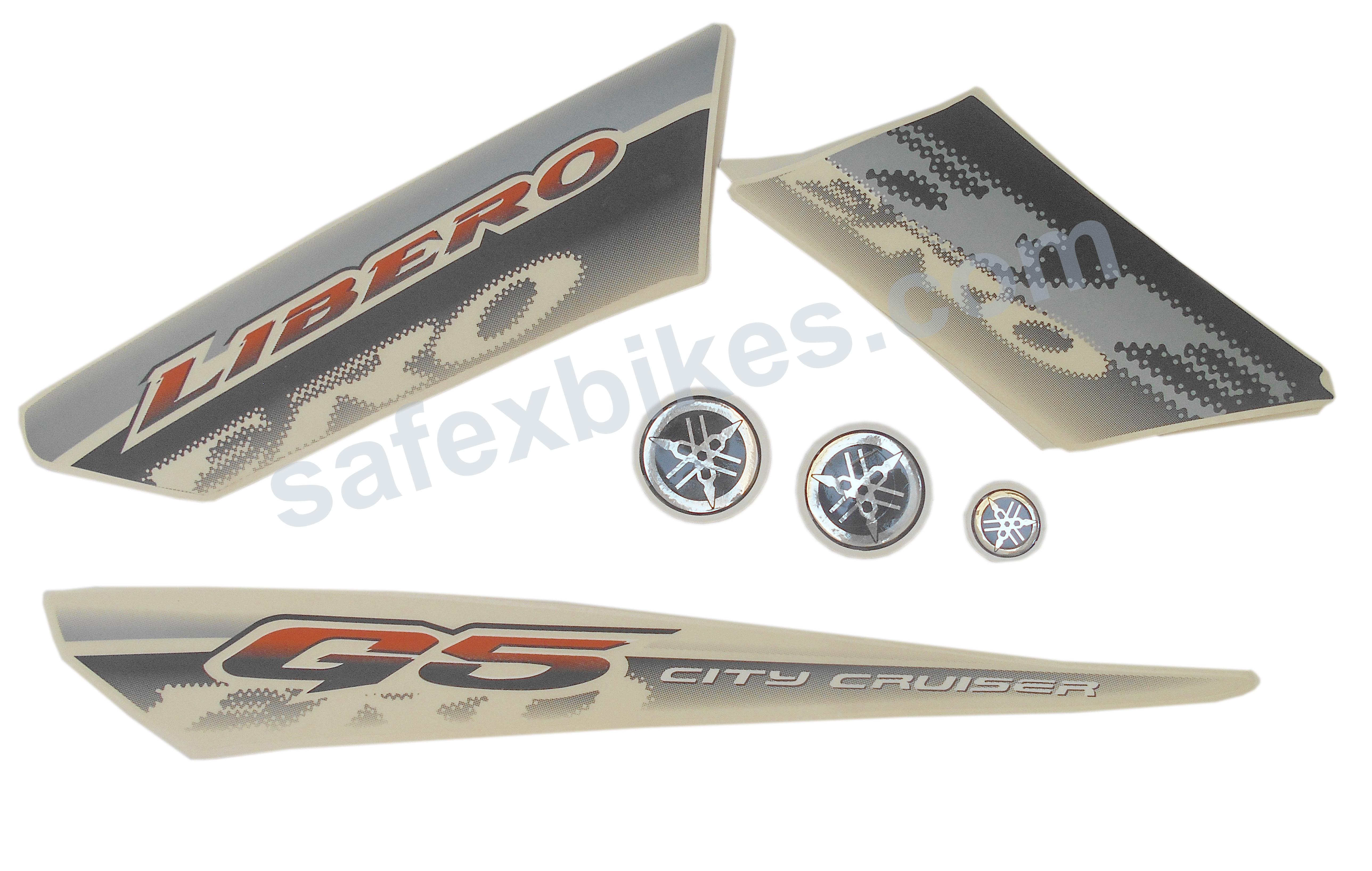 lock kit libero g5 set of 3 minda motorcycle parts for yamaha Yamaha Motorcycle Schematics yamaha libero wiring diagram