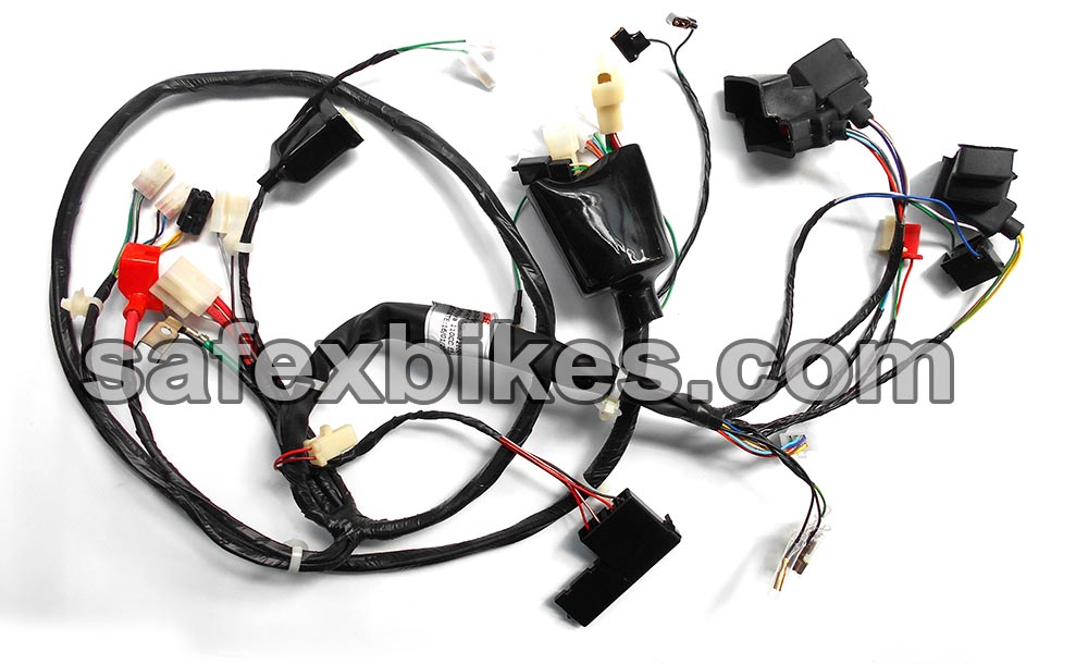motorcycle wiring harness buy at safexbikes motorcycle superstore safexbikes
