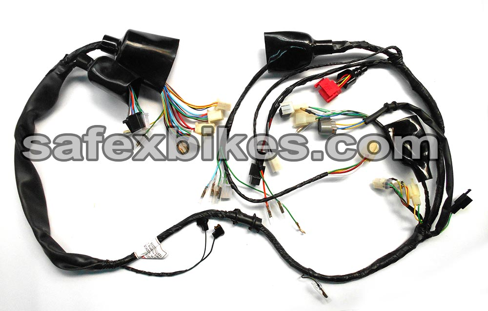 Buy WIRING HARNESS CBZ EXTREME ES SWISS On Special Discount From - Yamaha ybx wiring diagram