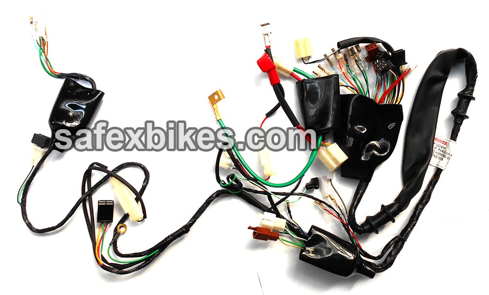 Buy WIRING HARNESS PASSION PRO ES SWISS On Special Discount From - Yamaha ybx wiring diagram