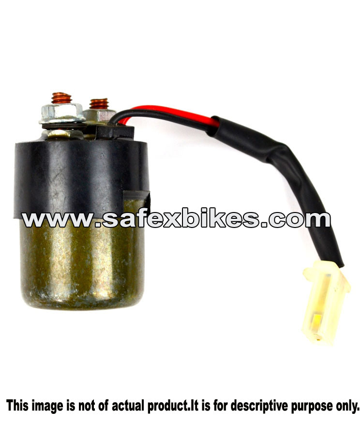STARTER RELAY DISCOVER DTSi (4 PIN) VARROC- Motorcycle Parts For ...